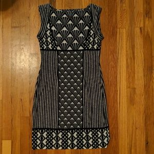 Tribal Print Sleeveless Shift Dress
